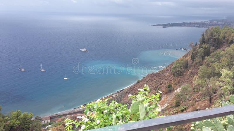 Taormina w Sicily zdjęcie stock