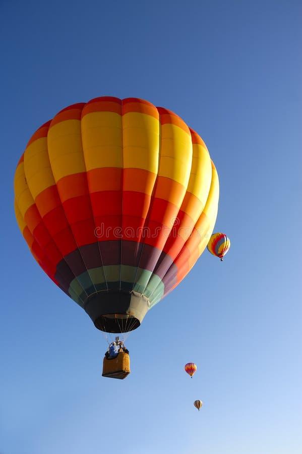 Taos热空气气球节日 图库摄影