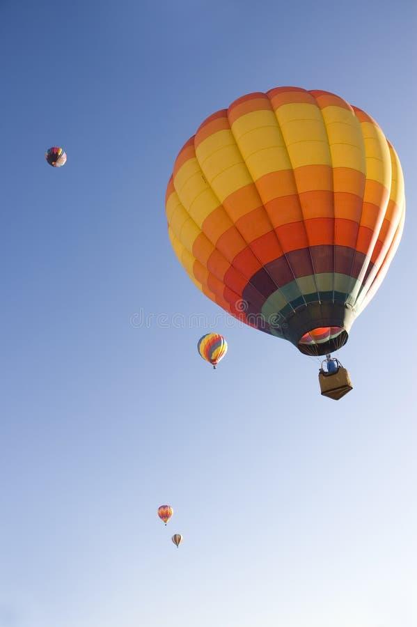 Taos热空气气球节日 免版税库存照片
