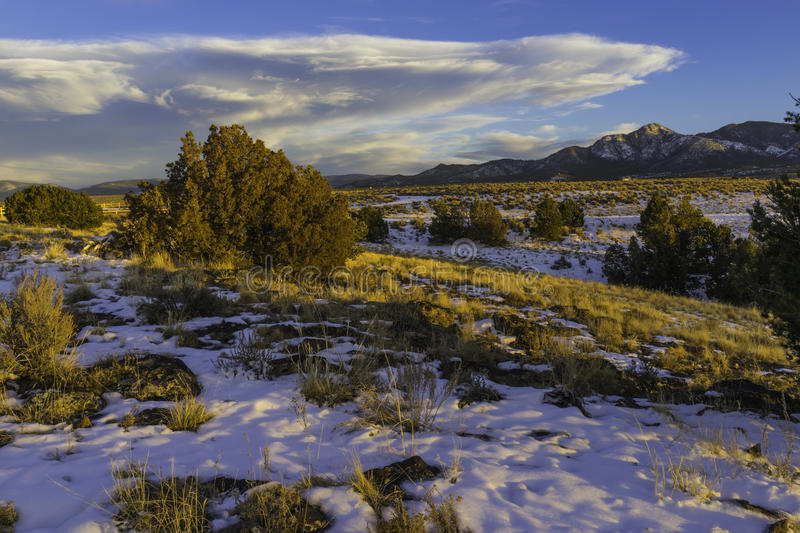 Download Taos NM Sunset Pinon stock photo. Image of field, abandoned - 54211092
