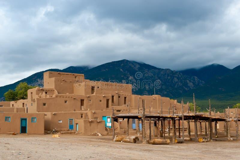 Taos Pueble foto de stock royalty free