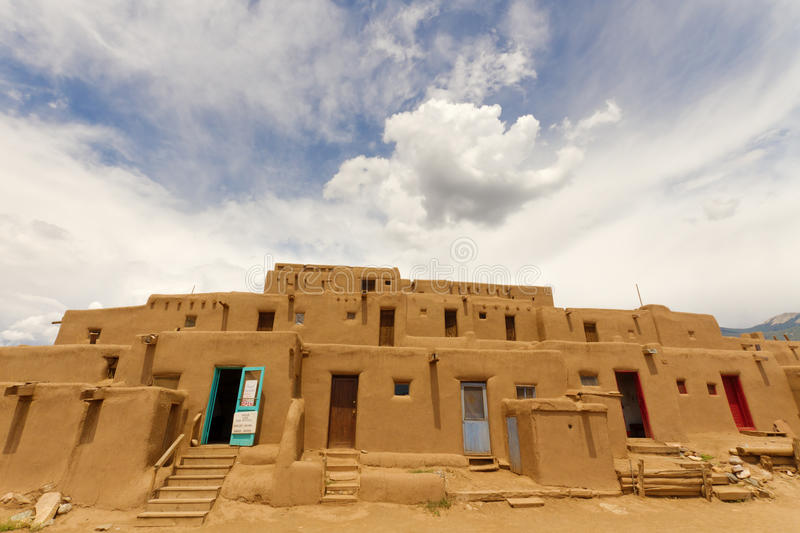 Download Taos Pueblo stock photo. Image of american, southwest - 26417882