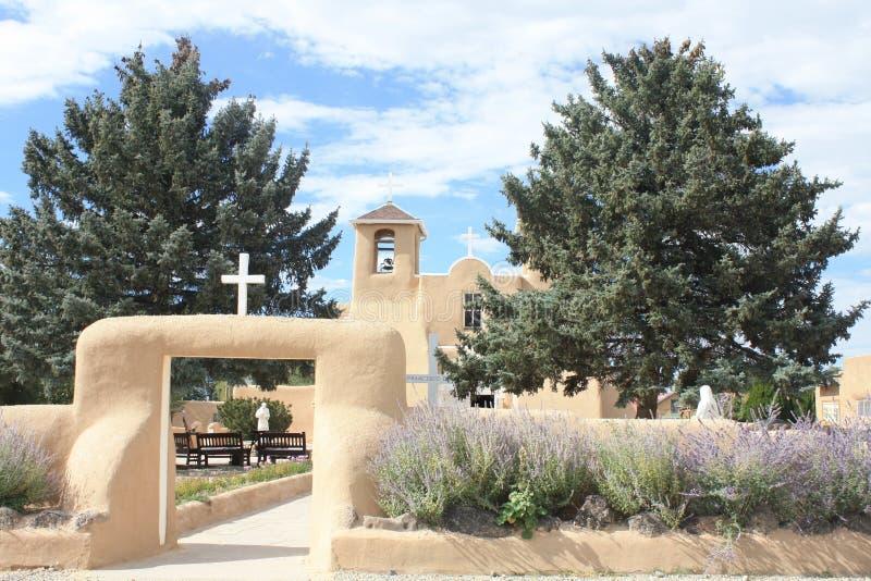 Taos Pueblo arkivfoton