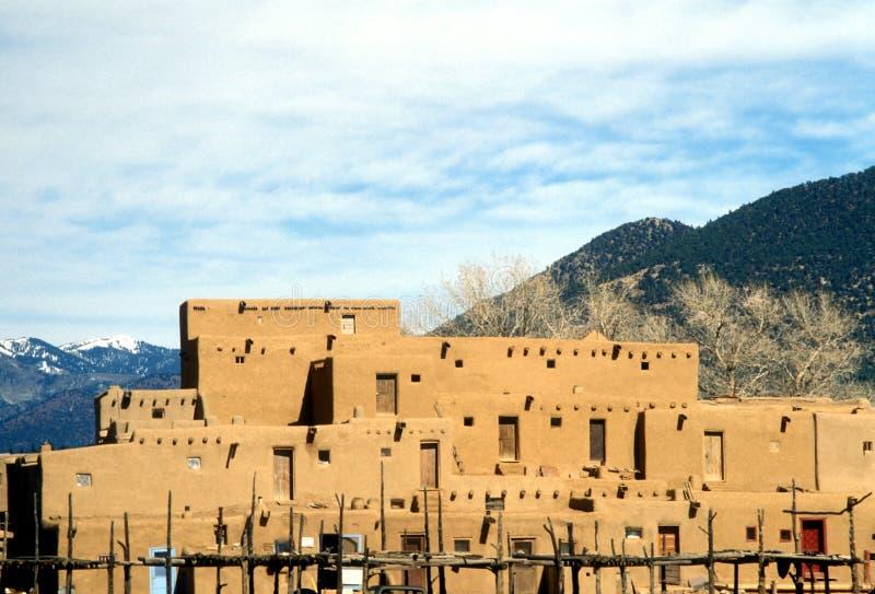 taos pueblo στοκ εικόνες με δικαίωμα ελεύθερης χρήσης