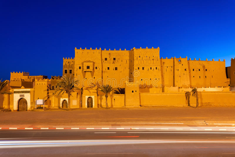 Taourirt Kasbah, Ouarzazate fotografía de archivo libre de regalías