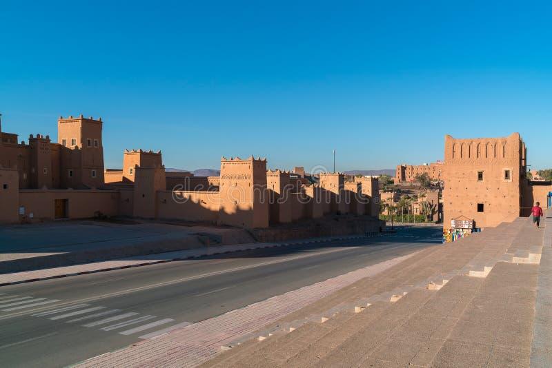 Taourirt Kasbah Ouarzazate point de repère du Maroc photo stock