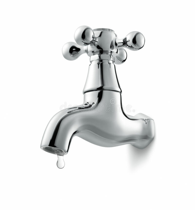 Download Tap stock photo. Image of metal, white, chrome, leaking - 15204982