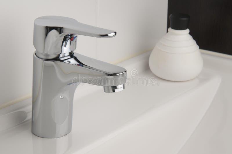 Tap in Bathroom royalty free stock photos