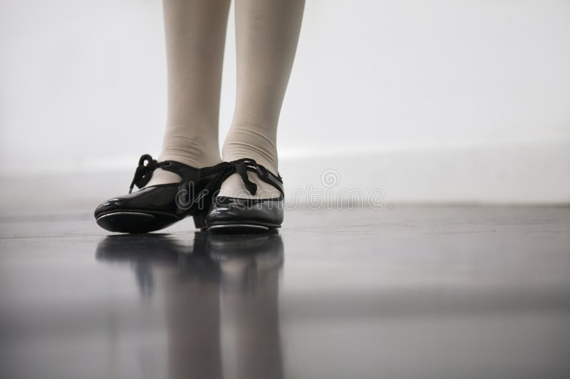 Tap Dance Class royalty free stock photo