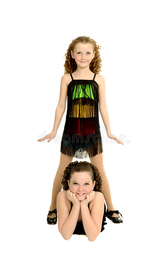 Download Tap Dance Sisters In Costume Stock Photo - Image: 35192634
