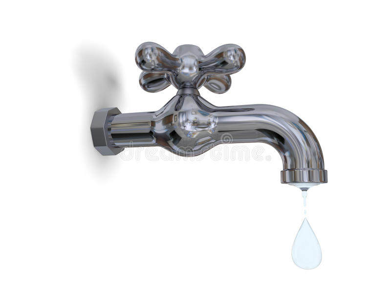 Tap Dripping Royalty Free Stock Images