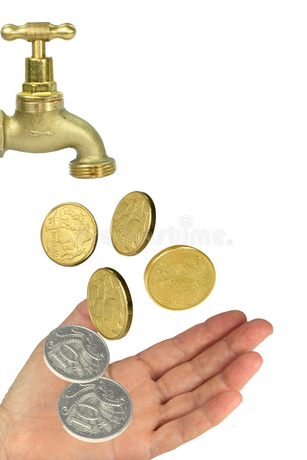 Download Tap hand money stock image. Image of change, loss, dollar - 11111655