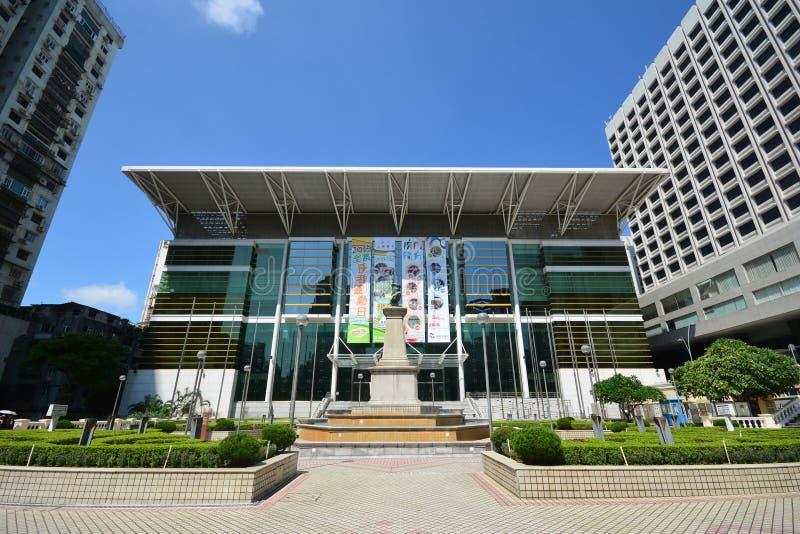 Tap Seac Multi-sports Pavilion, Macau - September 5, 2015 royalty free stock photo