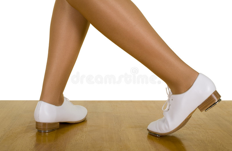 Download Tap-Top/Clog Dance Poses And Movements Stock Photo - Image: 4835738