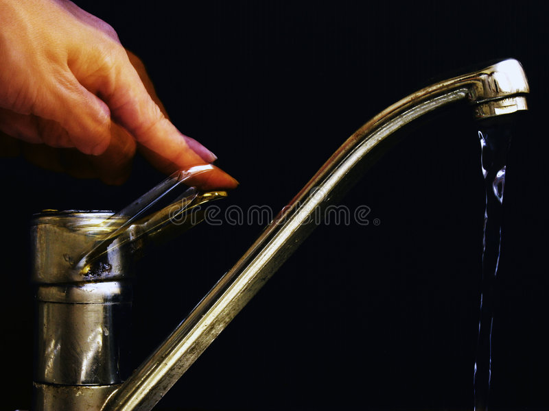 Tap water royalty free stock photography