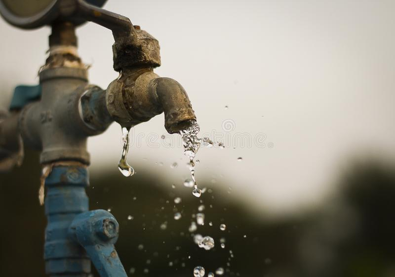 The tap water royalty free stock photos