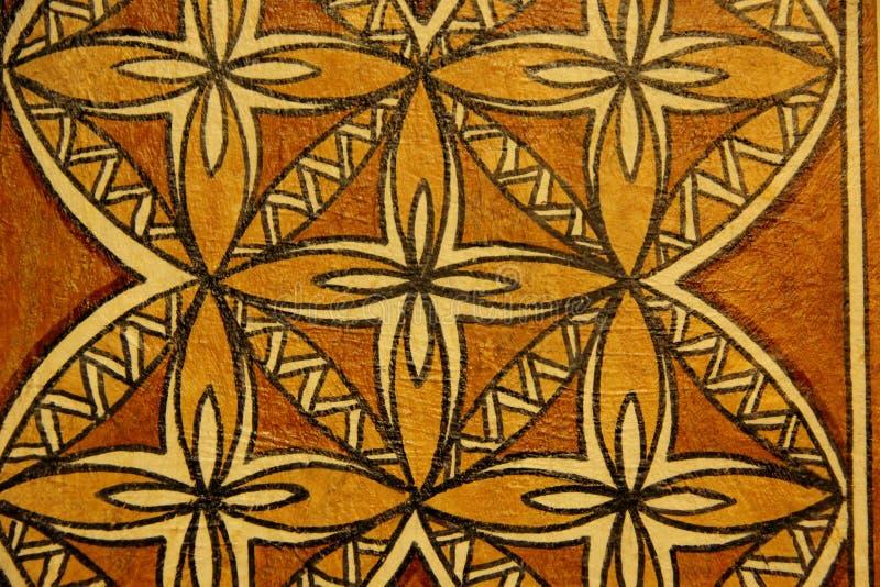 Tapa Cloth image libre de droits