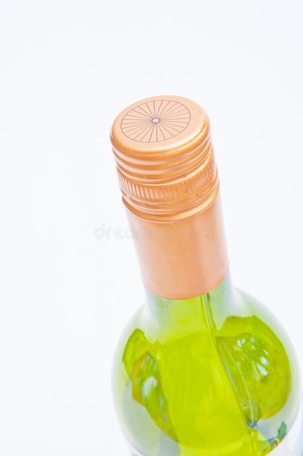 Tapa de la botella del tapón de tuerca. imagenes de archivo