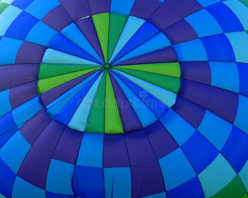 Tapa de los globos de un aire caliente fotografía de archivo libre de regalías