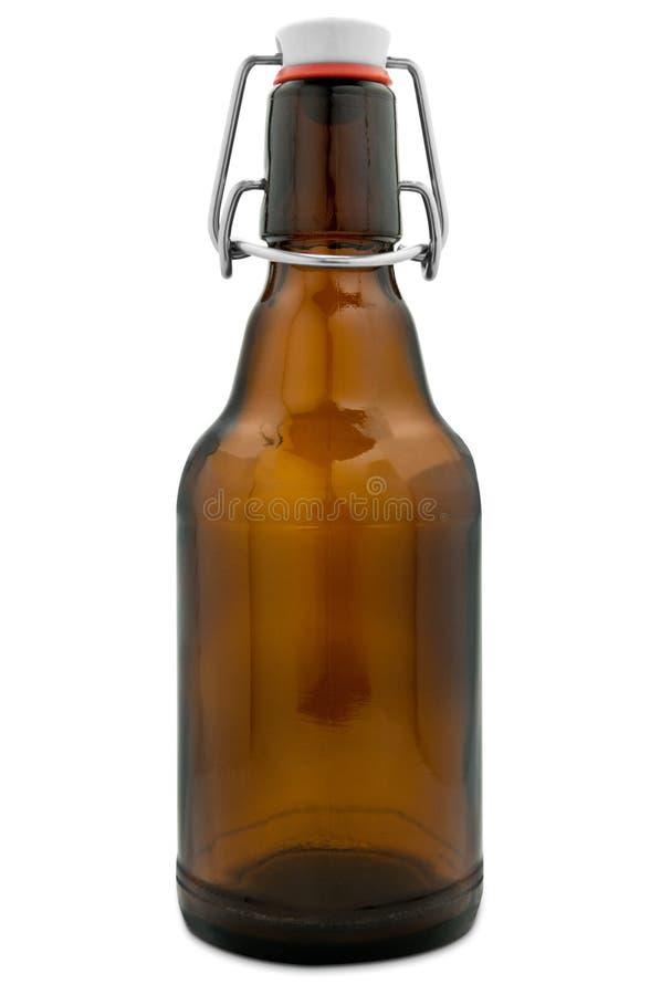 Tapa del oscilación de la botella de cerveza foto de archivo