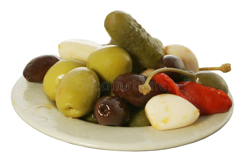 Tapa olive 1 photographie stock libre de droits