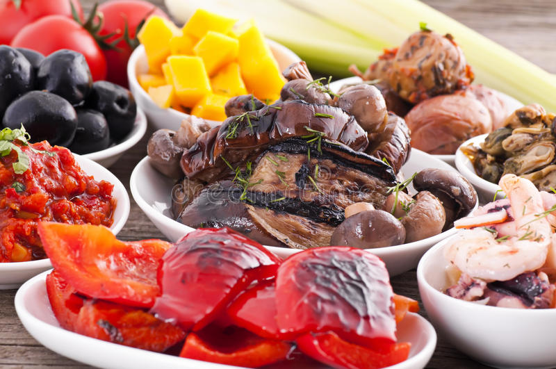Download Tapas stock photo. Image of adjika, mediterranean, mouthful - 18610124