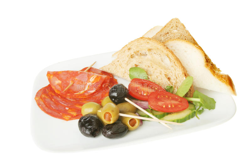 Download Tapas stock image. Image of tapas, isolated, crusty, sliced - 19334631