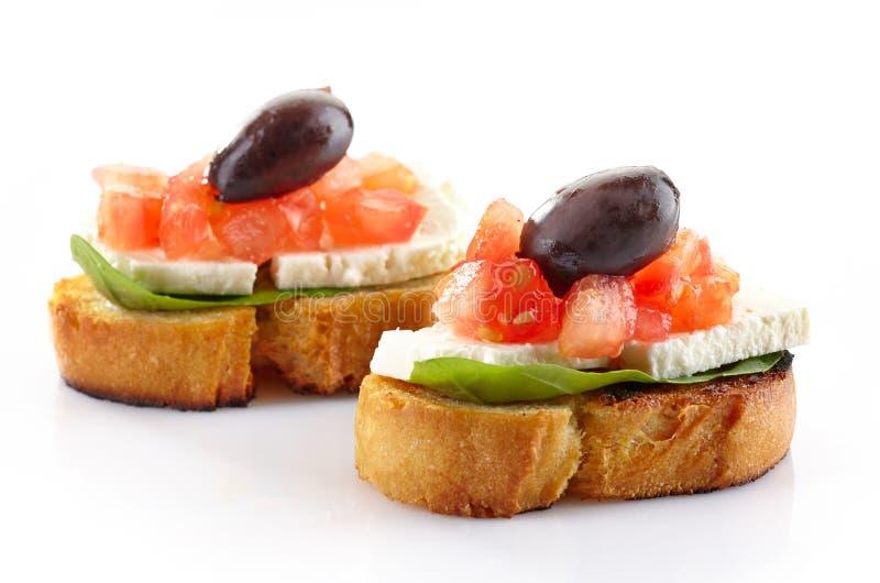 Tapas espagnols de nourriture photographie stock