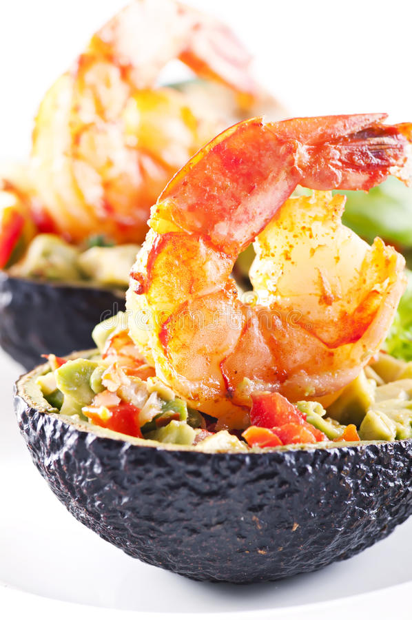 Download Tapas with prawns stock image. Image of dinner, king - 19090865