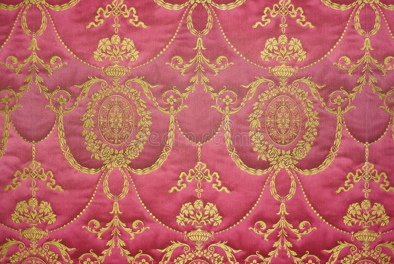 Tapeçaria barroca retro foto de stock