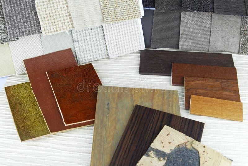 Tapeçaria de Upholstery imagens de stock