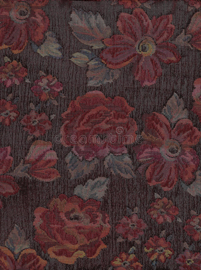 Tapeçaria floral. imagem de stock
