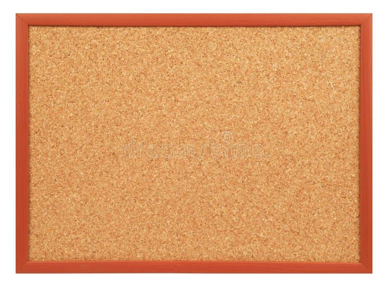 Tape a la tarjeta con corcho fotografía de archivo libre de regalías