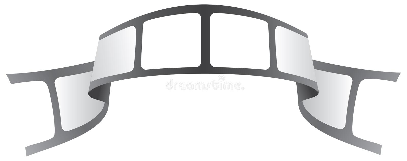 Tape logo. A movie company tape logo