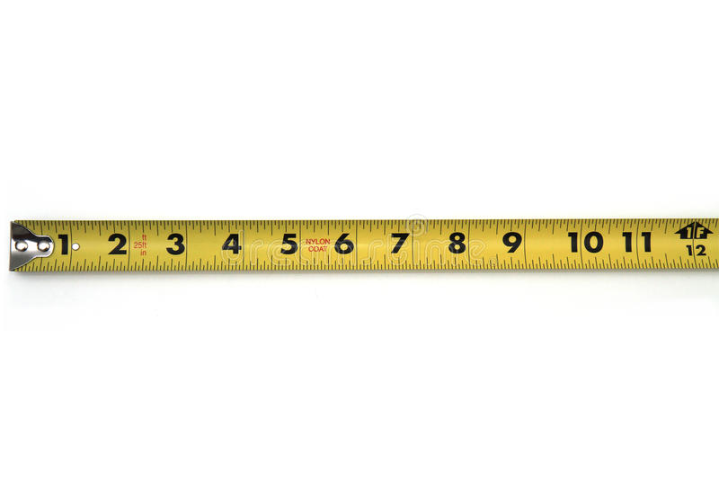 Download Tape Measure stock photo. Image of carpenter, inches - 22190342