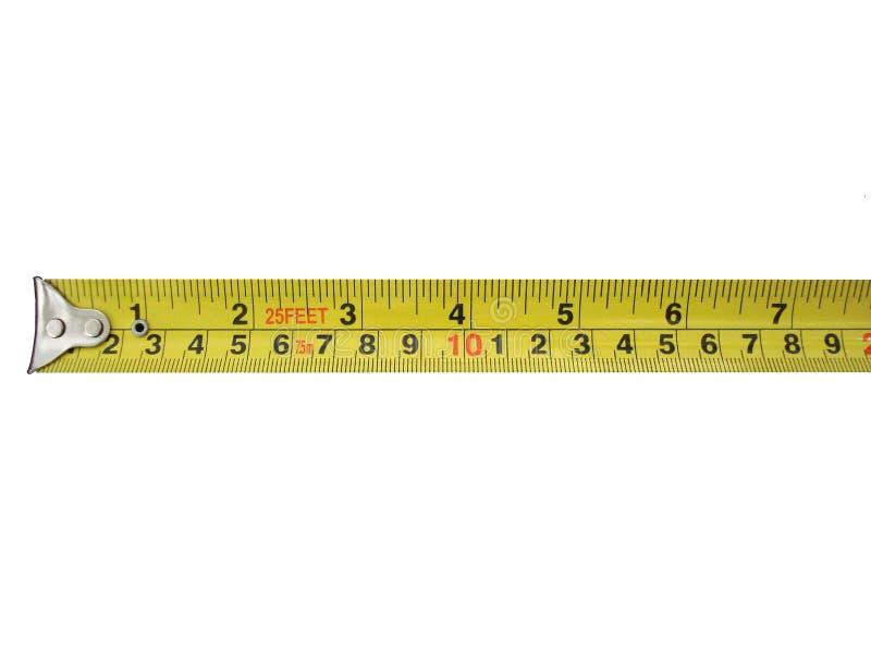 Tape measure. royalty free stock photo