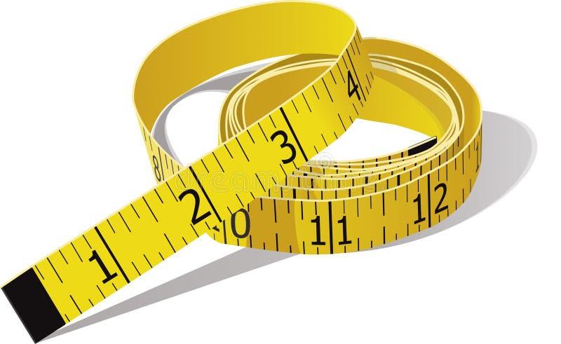 Tape Measure vector illustration