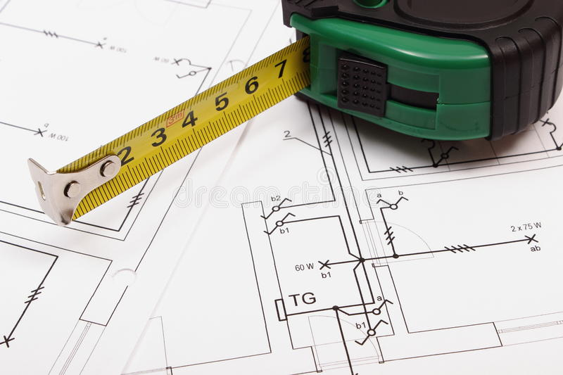 download tape measure on electrical construction drawing of house stock po image of diagrams