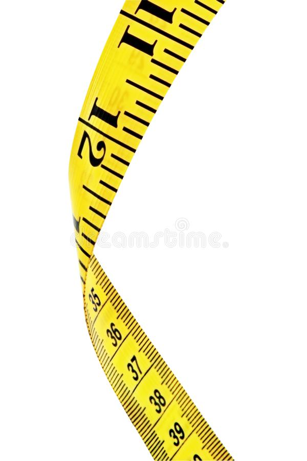 Download Tape Measure (with Path) Stock Photos - Image: 4207903