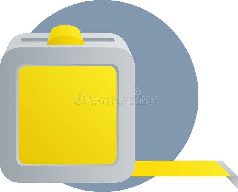Tape Measure Ruler Tool Illustration Stock Photography