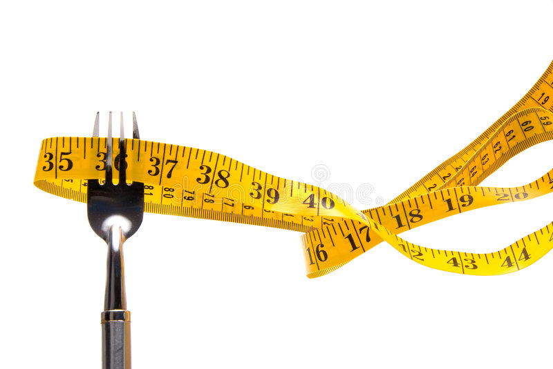 Download Tape Measure Stuck On Fork Royalty Free Stock Photo - Image: 6393435