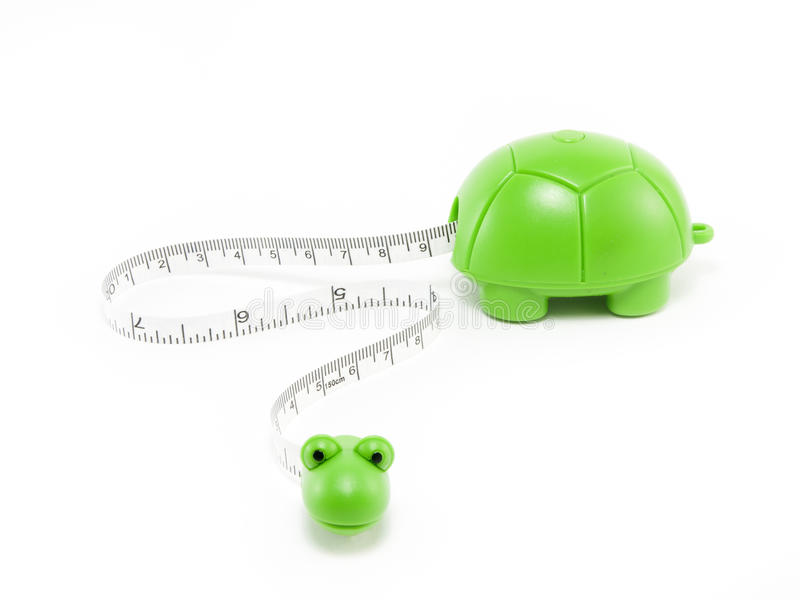 Download Tape measure with a turtle stock image. Image of length - 28649335