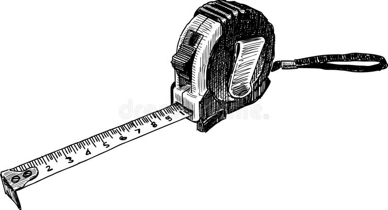 Download Tape measure stock vector. Illustration of number, equipment - 36737280