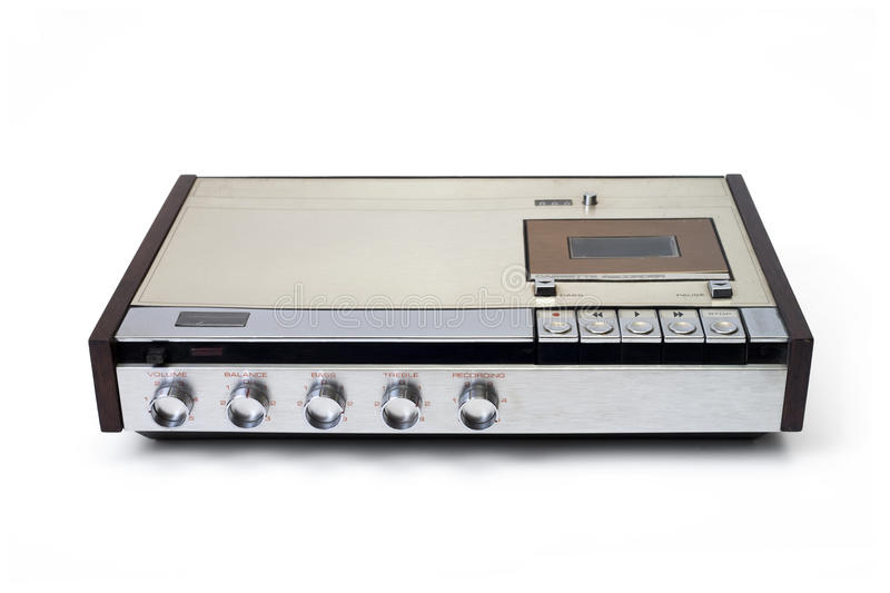 Download Tape recorder stock image. Image of retro, sound, isolated - 14163079