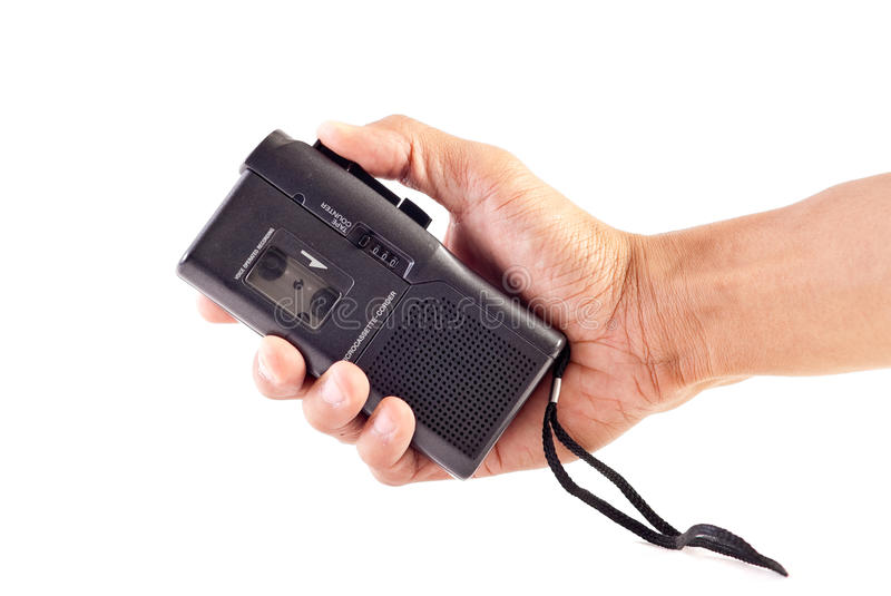 Download Tape Recorder stock photo. Image of male, memo, audio - 16721716