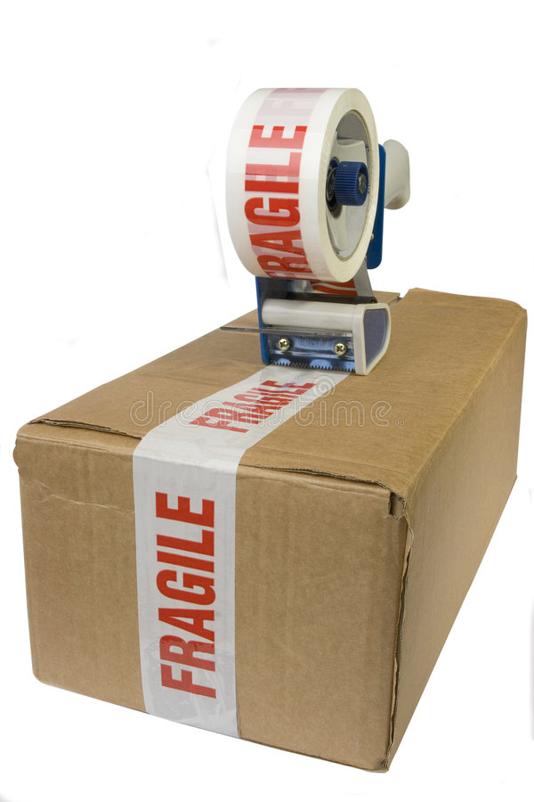 Free Taped Box Royalty Free Stock Images - 331219