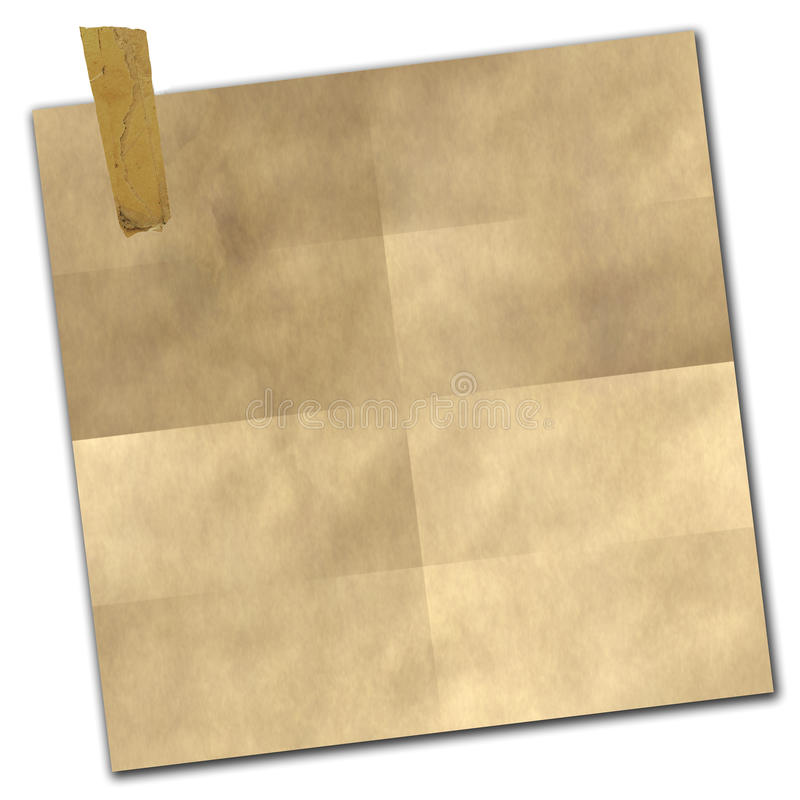 Taped Paper