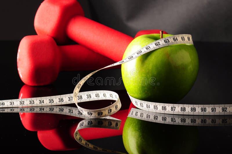 tapeline яблока стоковое фото