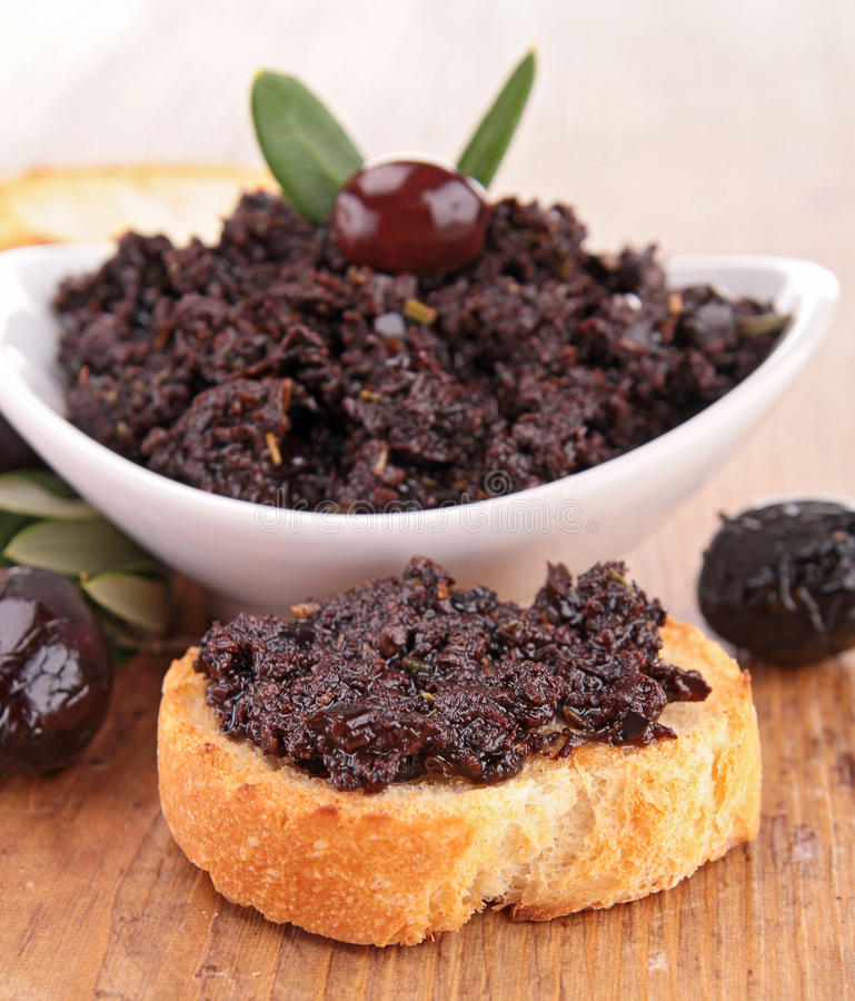 Tapenade stock images