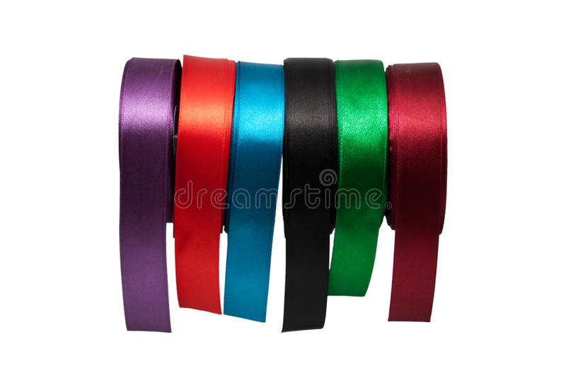 Tapes Of Different Colour Stock Images